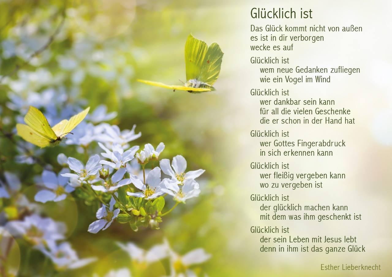 Christliches gedicht glaube